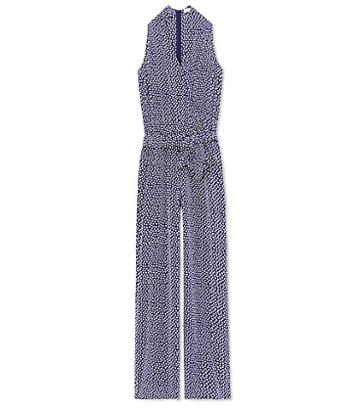 Tory Burch Nautical Dot Jumpsuit