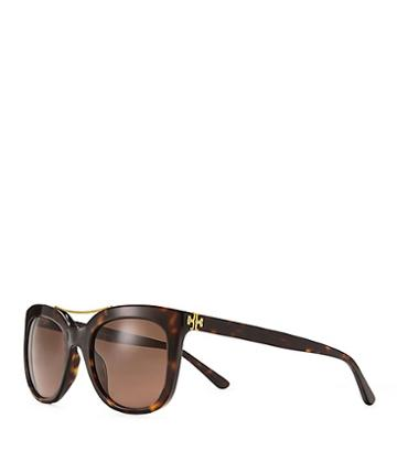 Tory Burch Bridge Square Sunglasses