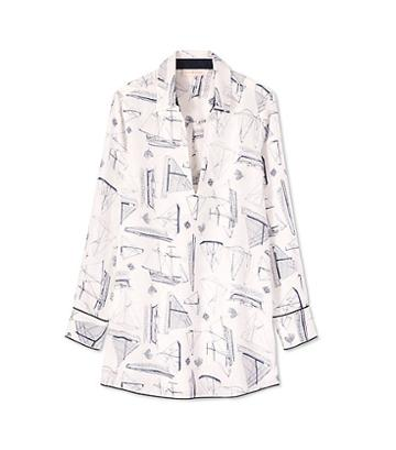 Tory Burch Sail Beach Shirt