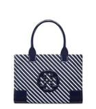 Tory Burch Ella Stripe Mini Tote