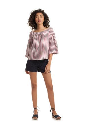 Trina Turk Trina Turk Coit Top - Multicolor - Size Fit Guide