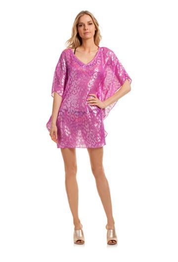 Trina Turk Trina Turk Megan Cover Up - Pink - Size L