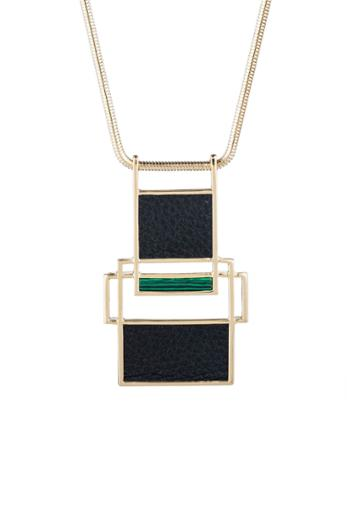 Trina Turk Trina Turk Sunset Pendant Necklace - Multicolor - Size Fit Guide