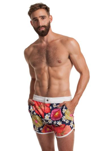 Trina Turk Trina Turk Dana Point Swim Trunk - Multicolor - Size 29