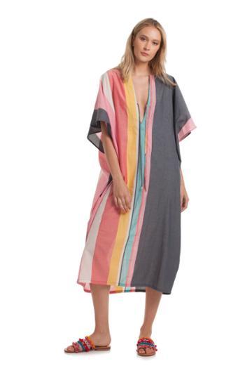 Trina Turk Trina Turk Maxi Kaftan - Multicolor - Size O/s