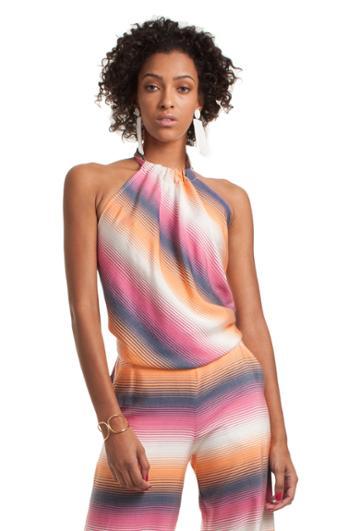 Trina Turk Trina Turk Tamika Top - Multicolor - Size L