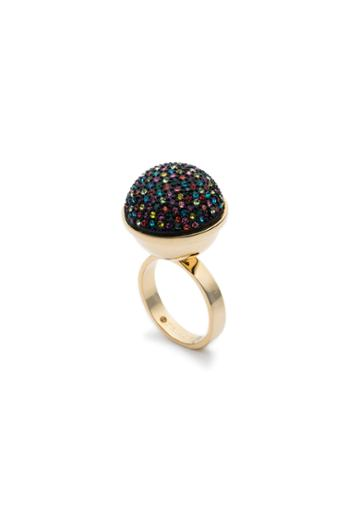Trina Turk Trina Turk Confetti Pave Ring - Multicolor - Size Fit Guide