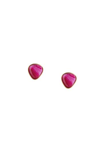 Trina Turk Trina Turk Hollywood Hills Stud Earrings - Gold - Size Fit Guide