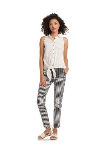 Trina Turk Trina Turk Amantha Top - White - Size Fit Guide