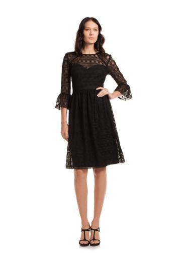 Trina Turk Trina Turk Everdine Dress - Black - Size 0