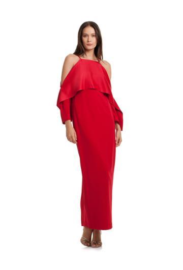 Trina Turk Trina Turk Mia Dress - Red - Size 0