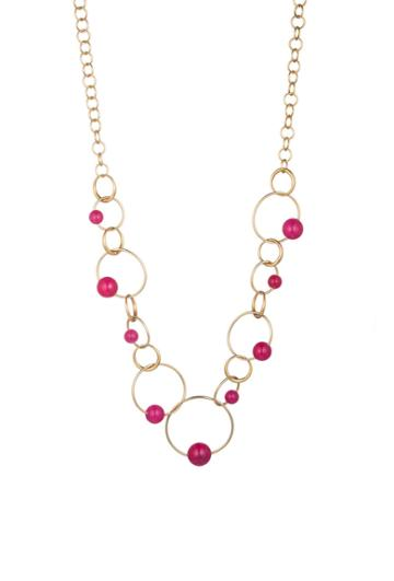 Trina Turk Trina Turk Hollywood Hills Link Necklace - Gold - Size Fit Guide
