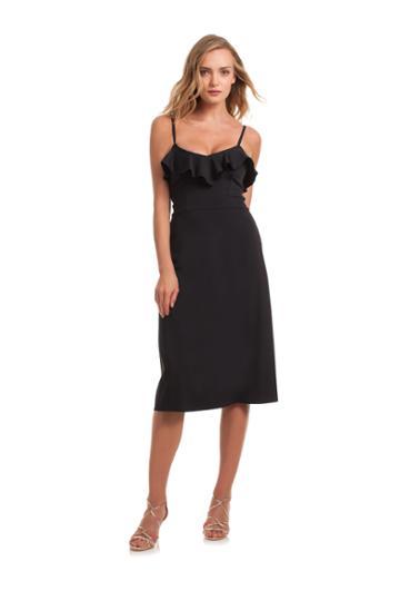 Trina Turk Trina Turk Nifty Dress - Black - Size 0