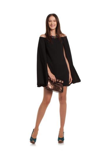 Trina Turk Trina Turk Sculpture Dress - Black - Size 0