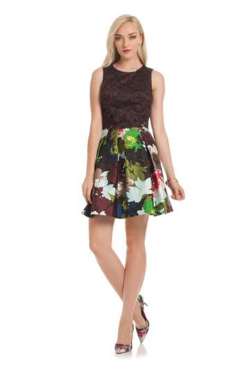 Trina Turk Trina Turk Emmalee Dress - Multi - Size 0