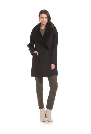 Trina Turk Trina Turk Dawn Coat - Black - Size L