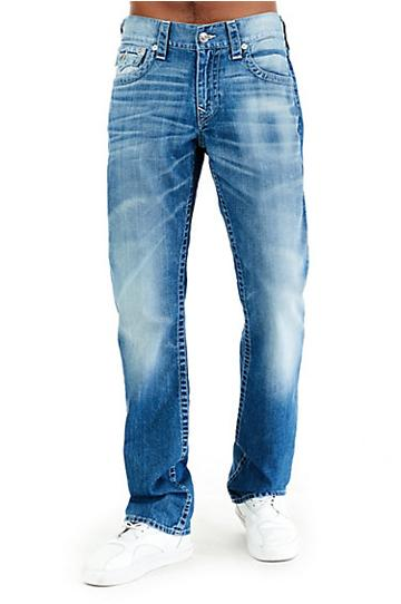 Straight W/flap Mens Jean | Never Leave | Size 28 | True Religion