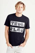 True Religion Trla Shortsleeve Mens Sweatshirt - Jet Black