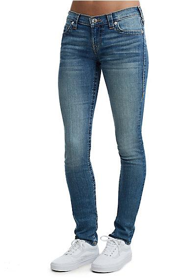 Women's Stella Skinny Fit Jean | Ocean Floor | Size 24 | True Religion