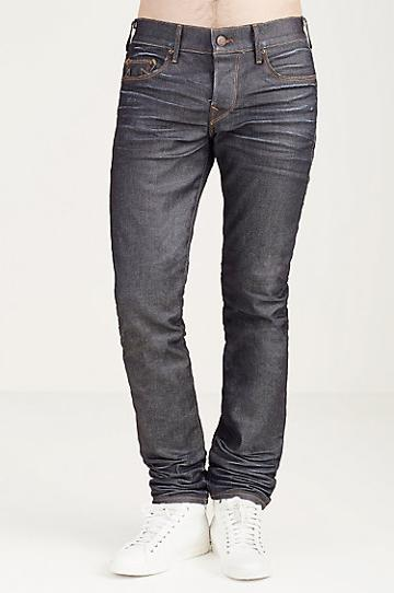 True Religion Rocco Skinny Mens Jean - Worn Ranch