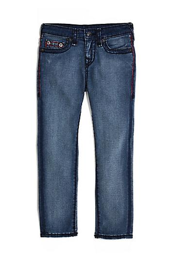 Kids Rocco Super T Jean | Storm Blue | Size 8 | True Religion