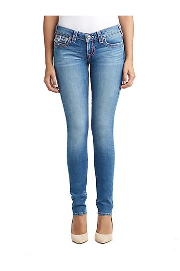 Womens Big T Skinny Jean W/ Flap For Breast Cancer | Moonstone | Size 24 | True Religion