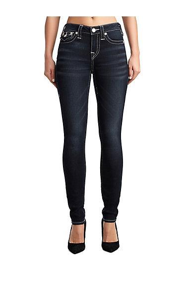 Women's Super Skinny Fit Jean   Divine Hue   Size 23   True Religion