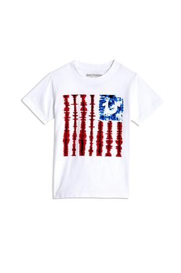 All Star Flag Tee | White | Size 2t | True Religion