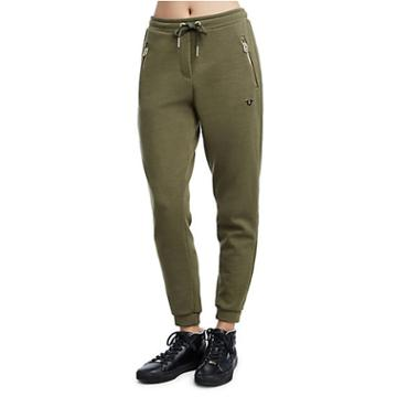 Womens Slim Jogger Pant | Military Green | Size X Small | True Religion