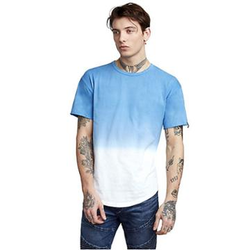 Mens Two Tone Ombre Tee | Atlantic Blue | Size Small | True Religion