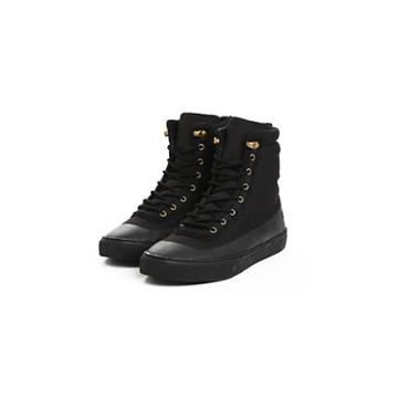 Phantom High Top Lace Up Boot | Black | Size 8 | True Religion