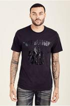 Blackout Mens Crew Neck Tee | Size X Small | True Religion