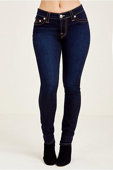 True Religion Curvy Skinny Womens Jean - Lonestar