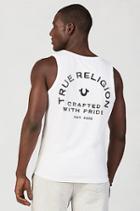 True Religion Crafted Pride Mens Tank - White
