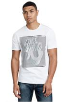 Men's Perspective Crew Neck Tee | White | Size Small | True Religion