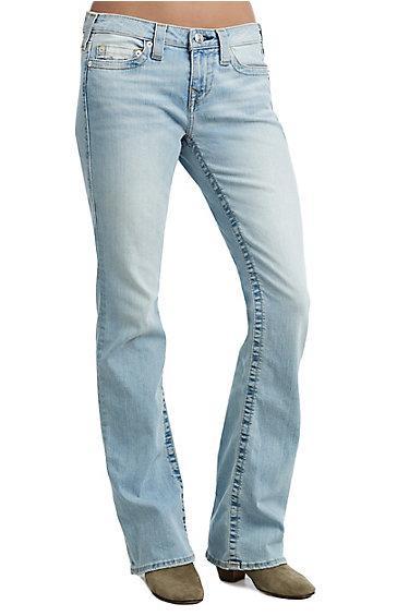 Women's Becca Bootcut Jean | Hose Down | Size 24 | True Religion