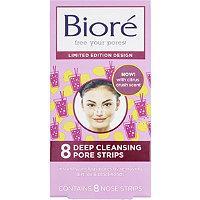 Biore Pink Lemonade Deep Cleansing Pore Strips