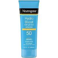 Neutrogena Hydro Boost Sunscreen Spf 50 (packaging May Vary)