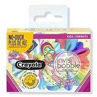 Invisibobble Kids - Crayola Sprunchie Set