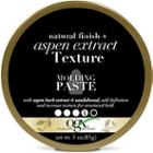 Ogx Natural Finish + Aspen Extract Texture Molding Paste