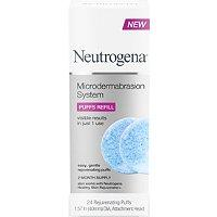 Neutrogena Microdermabrasion System Puffs Refill