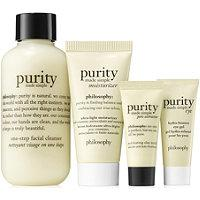 Philosophy Purity All Ways Cleanse Mask & Moisturize Mini Kit