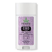 Hempz Don't Sweat It! Lavender Cbd 90mg Herbal Body Deodorant Stick