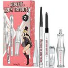 Benefit Cosmetics Brow Tryouts! Mini Eyebrow Set  Incheseyebrow Pencil & Setting Gel Trio Inches