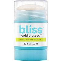 Bliss Cold Pressed Olive Oil Foaming Cleanser
