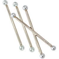 Kitsch Pearl Bobby Pins 3 Pc