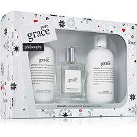 Philosophy Pure Grace Trio Gift Set