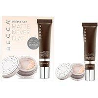 Becca Cosmetics Prep & Set Matte Never Flat Kit