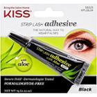 Kiss Strip Lash Adhesive With Aloe, Black