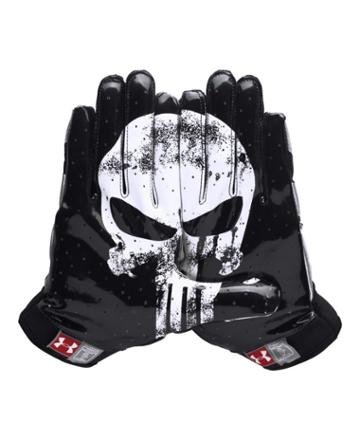 Men's Under Armour Alter Ego Punisher F4 Football Gloves